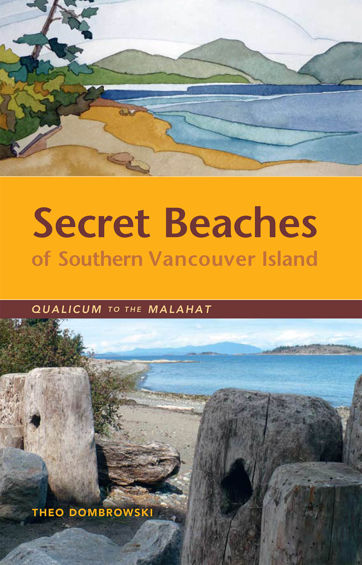 Secret Beaches of Southern Vancouver Island Qualicum to the Malahat book cover